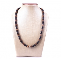 Collier Black & Brown